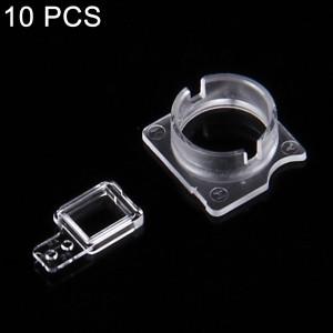 10 Ensembles iPartsBuy pour iPhone 7 face à la caméra lunette + support de fixation de capteur S141211949-20