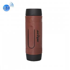 ZEALOT S1 Bluetooth 4.0 sans fil filaire haut-parleur subwoofer récepteur audio avec batterie 4000mAh, carte de soutien 32GB, pour iPhone, galaxie, Sony, Lenovo, HTC, Huawei, Google, LG, Xiaomi, autres smartphones (café) SZ000C561-20
