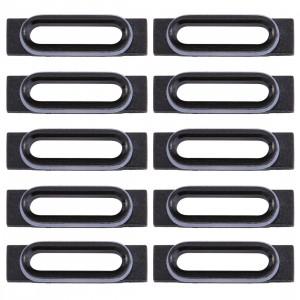 10 PCS iPartsAcheter pour les supports de retenue de port de recharge iPhone 7 (noir) S1720B1812-20