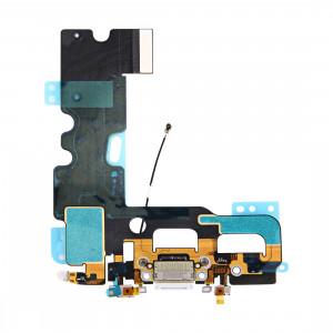 iPartsBuy pour iPhone 7 Port de charge + câble Flex audio (blanc) SI961W1457-20