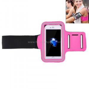 Brassard de sport avec poche à clé, pour iPhone 8 et 7 Brassard de sport avec poche à clé (magenta) SB100M5-20