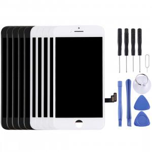 5PCS Noir + 5 PCS Blanc Ecran LCD et Digitizer Assemblage Complet pour iPhone 7 (5 Noir + 5 Blanc) SH7811866-20