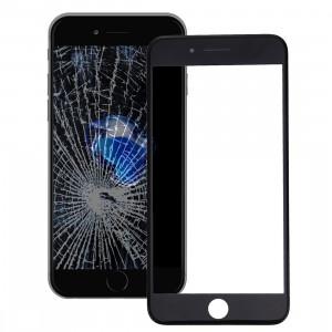 iPartsAcheter 2 en 1 pour iPhone 7 Plus (Lentille extérieure originale en verre + cadre d'origine) (Noir) SI066B1434-20