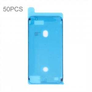 50 PCS iPartsAcheter pour iPhone 7 Plus Logement avant LCD Cadre Lunette Plaque Autocollant Adhésif Imperméable (Noir + Blanc) S50116692-20