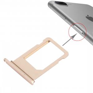 iPartsAcheter pour le bac à cartes iPhone 7 Plus (Gold) SI159J179-20