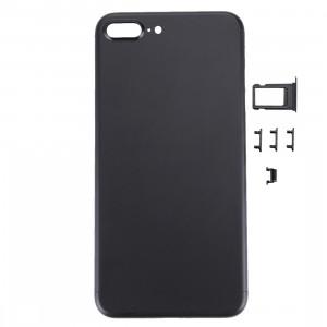 iPartsAcheter 5 en 1 pour iPhone 7 Plus (couverture arrière + plateau de carte + touche de contrôle du volume + bouton d'alimentation + touche de vibration du commutateur de mise en sourdine) Couvercle du boîtier de SI471B1074-20