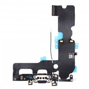 iPartsBuy pour iPhone 7 Plus Câble de Port de Charge (Noir) SI580B1474-20