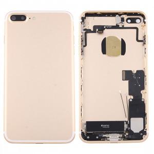 iPartsAcheter pour iPhone 7 Plus Batterie couvercle arrière avec bac à cartes (or) SI42JL219-20