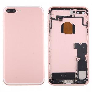 iPartsAcheter pour iPhone 7 Plus Batterie couvercle arrière avec plateau de carte (Rose Gold) SI2RGL1496-20