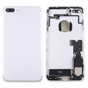 iPartsAcheter pour iPhone 7 Plus Batterie Couvercle arrière avec bac à cartes (Argent) SI42SL1475-20