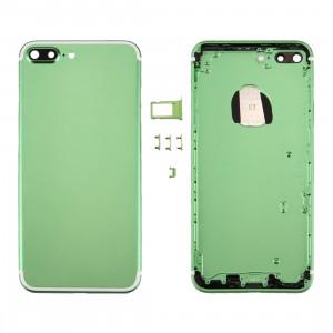 iPartsAcheter 6 en 1 pour iPhone 7 Plus (couverture arrière + plateau de carte + touche de contrôle du volume + bouton d'alimentation + interrupteur de sourdine Vibrator Key + signe) couvercle du boîtier Assemblée SI86GL816-20