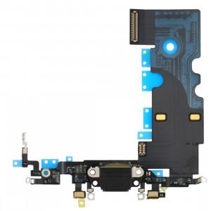 iPartsBuy pour iPhone 8 Câble de Port de Charge (Noir) SI19BL464-20