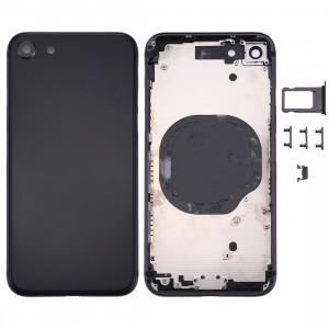 Couverture de logement arrière pour iPhone 8 (noir) SC23BL1059-20
