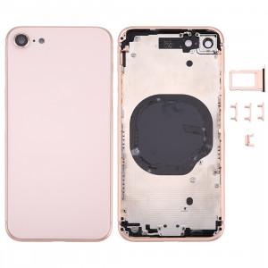Couverture de logement arrière pour iPhone 8 (or rose) SC3RGL946-20
