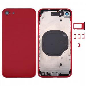 Couverture de logement arrière pour iPhone 8 (rouge) SC23RL1536-20