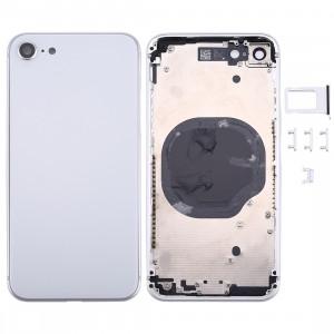 Couverture de logement arrière pour iPhone 8 (argent) SC23SL1751-20