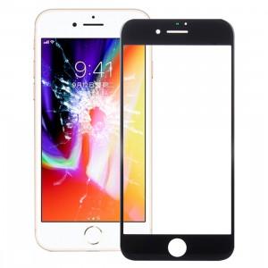iPartsAcheter pour l'écran de verre externe de l'écran avant de l'iPhone 8 (noir) SI123B1737-20