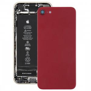 Couverture arrière avec adhésif pour iPhone 8 (rouge) SH01RL116-20