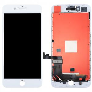 iPartsAcheter 3 en 1 pour iPhone 8 (LCD (AUO) + Cadre + Touch Pad) Assemblage de numériseur (Blanc) SI403W1671-20