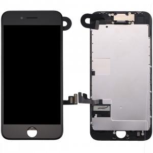 iPartsBuy 4 en 1 pour iPhone 8 (caméra frontale + LCD + cadre + pavé tactile) Assembleur de numériseur (noir) SI802B1584-20