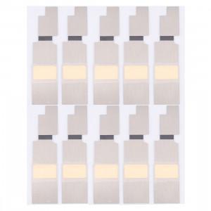 10 Ensembles iPartsBuy pour iPhone 8 Plus carte mère autocollants avant S100411853-20