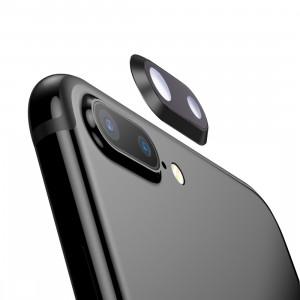 iPartsAcheter pour iPhone 8 Plus anneau de lentille de caméra arrière (noir) SI701B1032-20