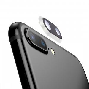 iPartsAcheter pour iPhone 8 Plus anneau de lentille de caméra arrière (Argent) SI701S36-20