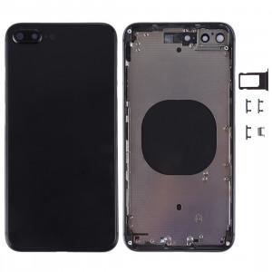 Housse de protection arrière pour iPhone 8 (noir) SH22BL1597-20
