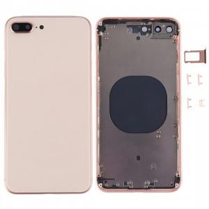 Couverture de logement arrière pour iPhone 8 Plus (or rose) SC2RGL1501-20