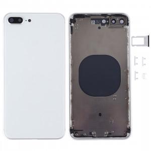 Couverture de logement arrière pour iPhone 8 Plus (blanc) SC22WL1908-20