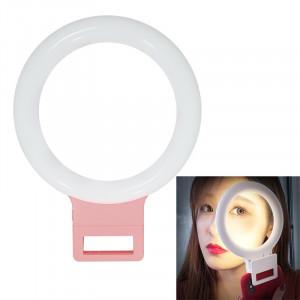 XJ18 LED Light Live Lumière de remplissage du flash avec retardateur (rose) SH021F222-20