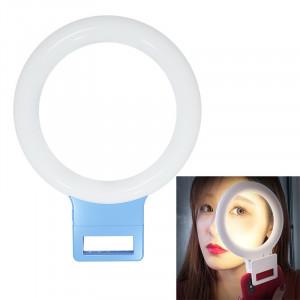 XJ18 LED Light Live Lumière de remplissage du flash avec retardateur (bleu) SH021L1379-20