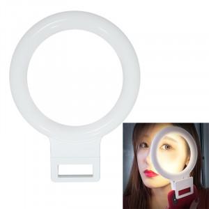 XJ18 LED Light Live Lumière de remplissage du flash avec retardateur (blanc) SH021W881-20