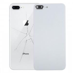iPartsAcheter pour iPhone 8 Plus couverture arrière avec adhésif (blanc) SI47WL8-20