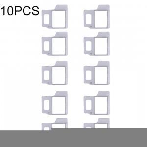 Anneau de positionnement de lumière flash 10 PCS pour iPhone 8 Plus SH35561299-20
