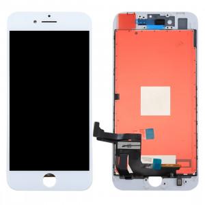 iPartsAcheter 3 en 1 pour iPhone 8 Plus (LCD (AUO) + Cadre + Touch Pad) Assemblage de numériseur (Blanc) SI402W56-20