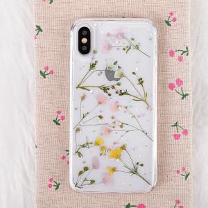 Étui souple motif floral pour iPhone XS Max 6,5 pouces (couleur) SH33CS498-20