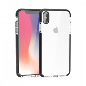 Etui en TPU souple très transparent pour iPhone XS Max (noir) SH085B534-20