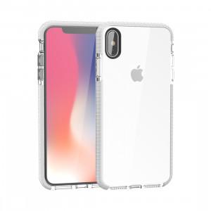 Etui en TPU souple très transparent pour iPhone XS Max (blanc) SH085W142-20