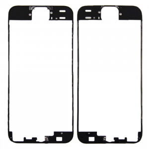 iPartsAcheter pour iPhone SE Original Avant Cadre LCD Cadre Lunette (Noir) SI661B1852-20