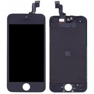 iPartsAcheter 3 en 1 pour iPhone SE (LCD + Cadre + Touch Pad) Digitizer Assemblée (Noir) SI001B333-20