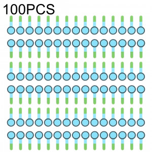 100 PCS Front Camera (petite) mousse éponge Slice Pads pour iPhone X SH01311046-20