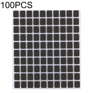 100 PCS écran noir autocollants pour iPhone X SH05361425-20