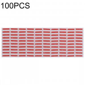 100 autocollants d'indicateur de garantie de dommages de l'eau de carte mère de PCS pour l'iPhone X SH0695222-20