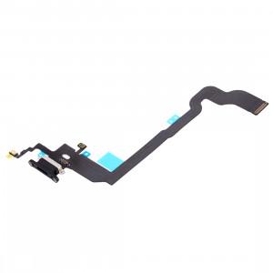 iPartsBuy pour iPhone X Câble de Port de Charge (Noir) SI01BL1679-20