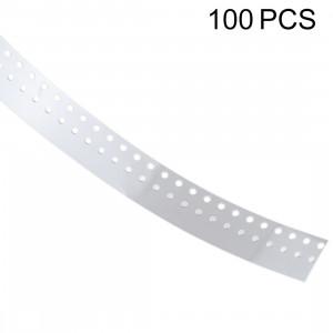 Remplacement de garnitures de clés latérales de 100 PCS 0.43mm pour l'iPhone X et 8 plus et 8 SH1547129-20