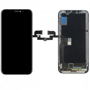 iPartsBuy pour iPhone X écran LCD + écran tactile Digitizer Assemblée (Noir) SI703B789-20