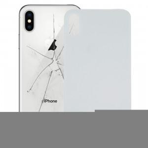 iPartsAcheter pour iPhone X couverture de batterie en verre (blanc) SI15WL1154-20