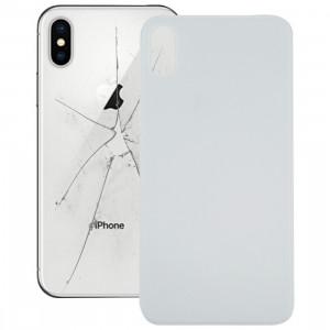 Coque Arrière Batterie Verre pour iPhone XS Max (Blanc) SH61WL1265-20
