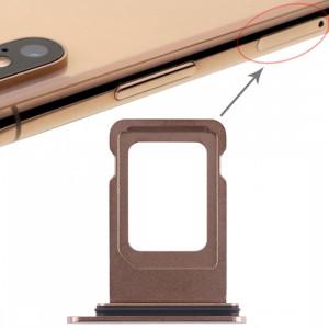Double bac à carte SIM pour iPhone XS Max (Double carte SIM) (Or) SH012J894-20